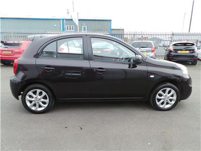 2014 NISSAN MICRA ACENTA 1198 PETROL MANUAL 5 Speed 5 DOOR HATCHBACK