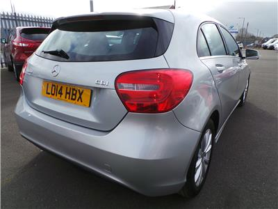 2014 MERCEDES A-CLASS A180 CDI ECO SE 1461 DIESEL MANUAL 6 Speed 5 DOOR HATCHBACK
