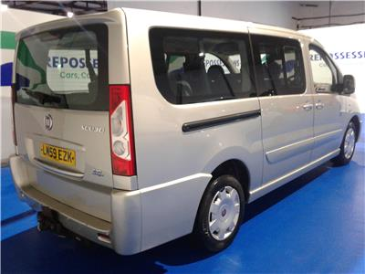 2009 FIAT SCUDO PANORAMA FAMILY LWB MULTIJET 1 1997 DIESEL MANUAL 6 Speed 5 DOOR MPV