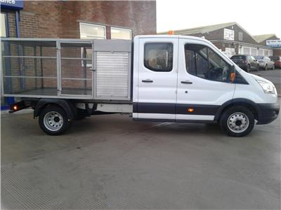 2015 FORD TRANSIT 350 L3 DCB C/C DRW 2198 DIESEL MANUAL 6 Speed CHASSIS CAB