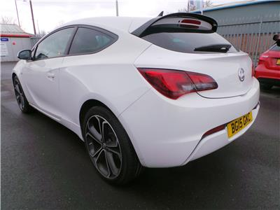 2015 VAUXHALL ASTRA GTC LIMITED EDITION S/S 1364 PETROL MANUAL 6 Speed 3 DOOR HATCHBACK