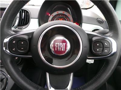 2016 FIAT 500 LOUNGE 1242 PETROL MANUAL 5 Speed 3 DOOR HATCHBACK