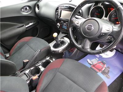 2013 NISSAN JUKE N-TEC 1598 PETROL MANUAL 5 Speed 5 DOOR HATCHBACK
