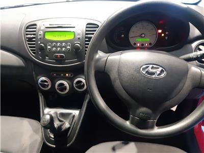 2010 HYUNDAI I10 CLASSIC 1248 PETROL MANUAL 5 Speed 5 DOOR HATCHBACK