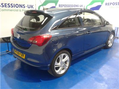 2015 VAUXHALL CORSA SRI VX-LINE 1398 PETROL MANUAL 3 DOOR HATCHBACK