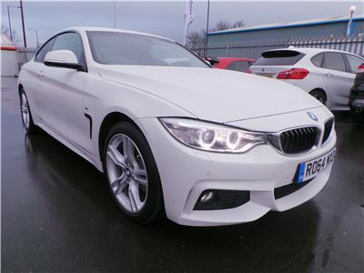 2014 BMW 4 SERIES 420D XDRIVE M SPORT 1995 DIESEL AUTOMATIC 8 Speed 2 DOOR COUPE