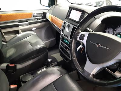 2010 CHRYSLER GRAND VOYAGER CRD LIMITED 2777 DIESEL AUTOMATIC 6 Speed 5 DOOR MPV