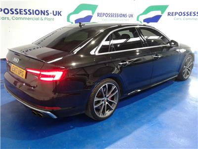 2017 AUDI A4 TFSI S4 QUATTRO 2995 PETROL AUTOMATIC 8 Speed 4 DOOR SALOON
