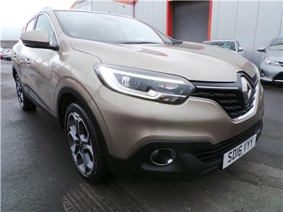 2016 RENAULT KADJAR DYNAMIQUE S NAV DCI 1461 DIESEL MANUAL 6 Speed 5 DOOR HATCHBACK