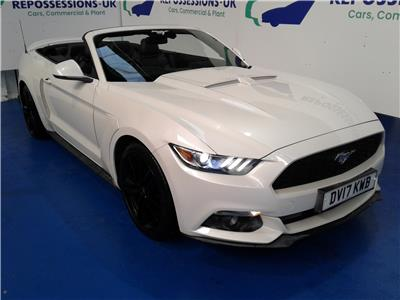 2017 FORD MUSTANG ECOBOOST 2261 PETROL MANUAL 6 Speed 2 DOOR CONVERTIBLE