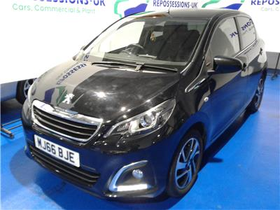 2016 PEUGEOT 108 PURETECH ALLURE 1199 PETROL MANUAL 5 Speed 5 DOOR HATCHBACK