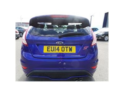 2014 FORD FIESTA ST-2 1596 PETROL MANUAL 6 Speed 3 DOOR HATCHBACK