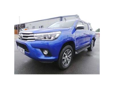 2017 TOYOTA HI-LUX INVINCIBLE 4WD D-4D DCB 2393 DIESEL MANUAL 6 Speed PICK UP