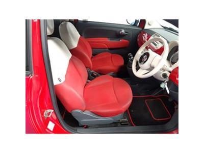 2010 FIAT 500 POP 1242 PETROL MANUAL  3 DOOR HATCHBACK