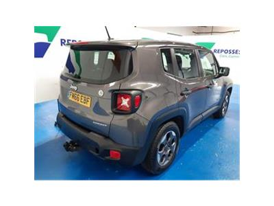 2017 JEEP RENEGADE M-JET SPORT 1598 DIESEL MANUAL 6 Speed 5 DOOR ESTATE