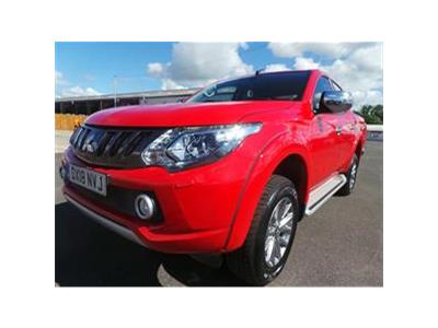2018 MITSUBISHI L200 DI-D 4WD BARBARIAN DCB 2442 DIESEL MANUAL 6 Speed PICK UP