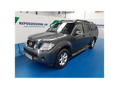2014 NISSAN NAVARA DCI TEKNA 4X4 SHR DCB 2488 DIESEL AUTOMATIC 5 Speed PICK UP