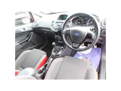 2014 FORD FIESTA ZETEC S RED EDITION 998 PETROL MANUAL 5 Speed 3 DOOR HATCHBACK