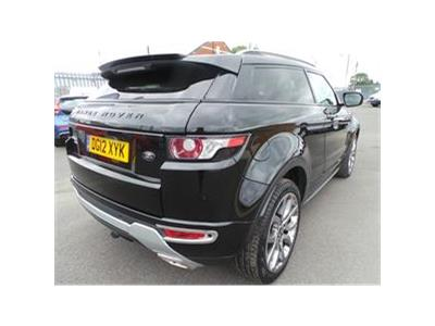2012 LAND ROVER RANGE ROVER EVOQUE SD4 DYNAMIC 2179 DIESEL MANUAL 6 Speed 3 DOOR COUPE