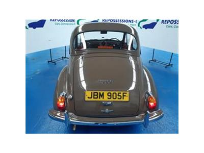 1968 MORRIS MINOR 1098 PETROL MANUAL  2 DOOR SALOON