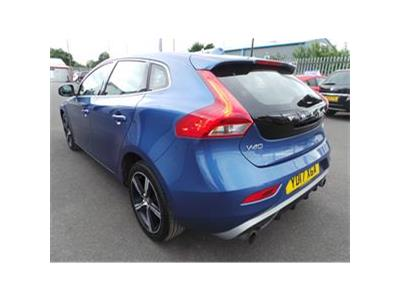 2017 VOLVO V40 T2 R-DESIGN 1969 PETROL MANUAL 6 Speed 5 DOOR HATCHBACK