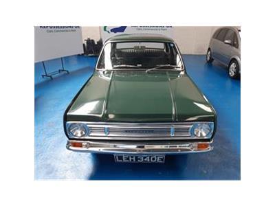 1967 VAUXHALL VICTOR 101 SALOON 1595 PETROL MANUAL 0 Speed 4 DOOR SALOON