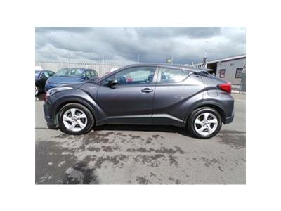 2018 TOYOTA CHR ICON 1798 PETROL/ELECTRIC CVT  5 DOOR HATCHBACK