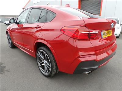 2014 BMW X4 XDRIVE20D M SPORT 1995 DIESEL AUTOMATIC 8 Speed 4 DOOR COUPE