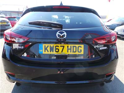 2017 MAZDA 3 SPORT NAV 1998 PETROL MANUAL 6 Speed 5 DOOR HATCHBACK
