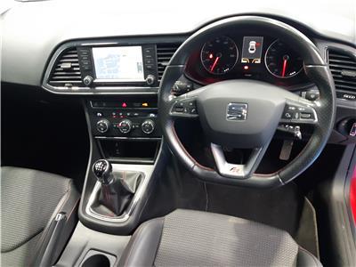 2016 SEAT LEON ECOTSI FR TECHNOLOGY 1395 PETROL MANUAL 6 Speed 3 DOOR HATCHBACK