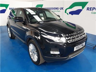 2013 LAND ROVER RANGE ROVER EVOQUE SD4 PRESTIGE 2179 DIESEL AUTOMATIC 6 Speed 5 DOOR ESTATE