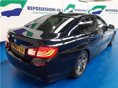 2013 BMW 5 SERIES 520D M SPORT 1995 DIESEL AUTOMATIC 8 Speed 4 DOOR SALOON