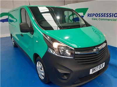 2017 VAUXHALL VIVARO L2H1 2900 CDTI 1598 DIESEL MANUAL 6 Speed PANEL VAN