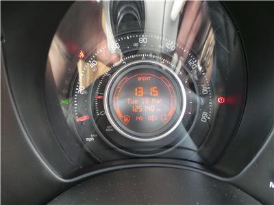 2012 ABARTH 500 ABARTH 1368 PETROL MANUAL 5 Speed 3 DOOR HATCHBACK