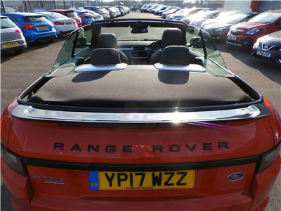 2017 LAND ROVER RANGE ROVER EVOQUE SI4 HSE DYNAMIC LUX 1999 PETROL AUTOMATIC 9 Speed 3 DOOR CONVERTIBLE