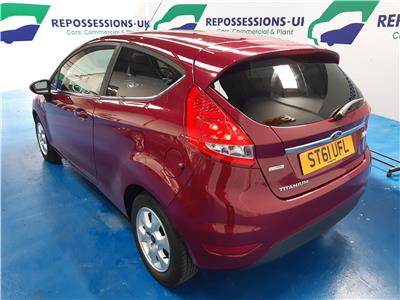 2012 FORD FIESTA TITANIUM ECONETIC TDCI 1560 DIESEL MANUAL 5 Speed 3 DOOR HATCHBACK