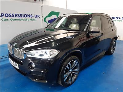 2017 BMW X5 M50D 2993 DIESEL AUTOMATIC 8 Speed 5 DOOR ESTATE