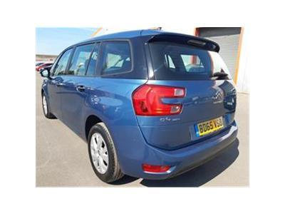 2015 CITROEN C4 PICASSO GRAND BLUEHDI VTR PLUS 1560 DIESEL AUTOMATIC 6 Speed 5 DOOR MPV