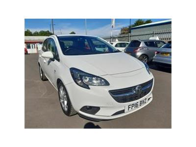 2016 VAUXHALL CORSA ENERGY AC ECOFLEX 1398 PETROL MANUAL 5 Speed 5 DOOR HATCHBACK