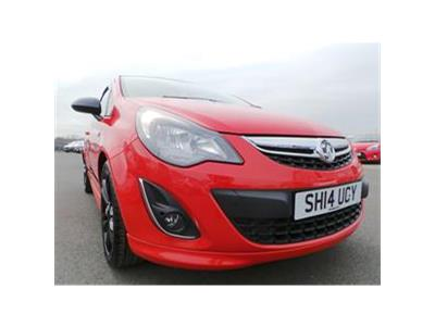 2014 VAUXHALL CORSA LIMITED EDITION CDTI ECOFLEX 1248 DIESEL MANUAL 5 Speed 3 DOOR HATCHBACK