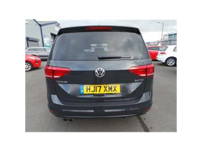 2017 VOLKSWAGEN TOURAN SE TDI BLUEMOTION TECHNOLOGY 1968 DIESEL MANUAL  5 DOOR MPV