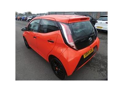 2014 TOYOTA AYGO VVT-I X-CITE 998 PETROL MANUAL 5 Speed 5 DOOR HATCHBACK