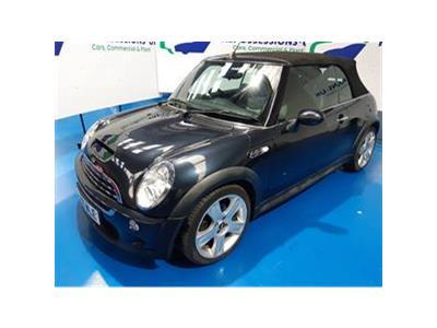 2006 MINI CONVERTIBLE COOPER S 1598 PETROL MANUAL 6 Speed 2 DOOR CONVERTIBLE