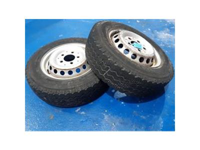 YANMAR 2 X MICHELIN 195/70R/ 5C WHEEL    TRACTOR