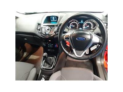 2014 FORD FIESTA ZETEC S 998 PETROL MANUAL 5 Speed 3 DOOR HATCHBACK