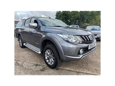 2018 MITSUBISHI L200 DI-D 4WD WARRIOR DCB 2442 DIESEL AUTOMATIC 5 Speed PICK UP