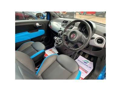2014 FIAT 500 S 1242 PETROL MANUAL  3 DOOR HATCHBACK