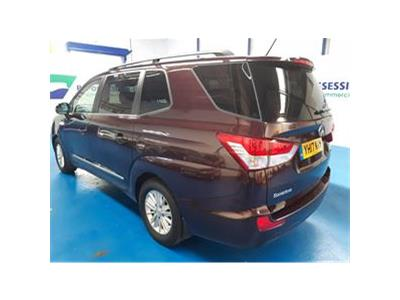 2017 SSANGYONG RODIUS TURISMO EX 2157 DIESEL MANUAL 6 Speed 5 DOOR MPV