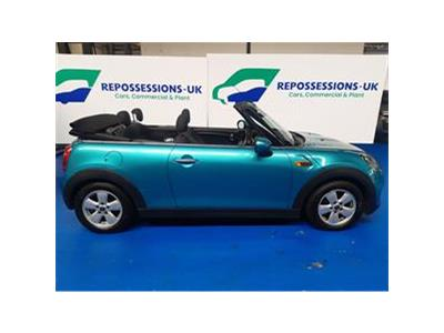 2016 MINI CONVERTIBLE COOPER D 1496 DIESEL MANUAL 6 Speed 2 DOOR CONVERTIBLE