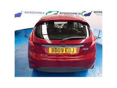 2009 FORD FIESTA ZETEC 16V 1388 PETROL MANUAL 5 Speed 3 DOOR HATCHBACK